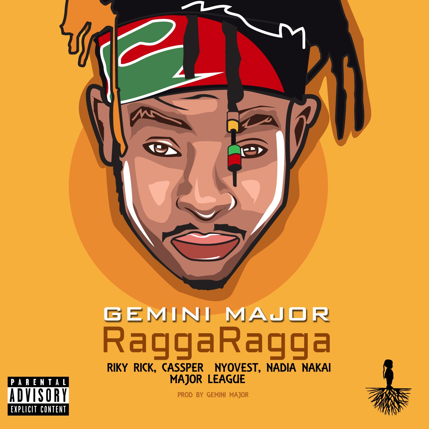 Ragga Ragga (feat. Cassper Nyovest, Nadia Nakai, Riky Rick & Major League) - Single