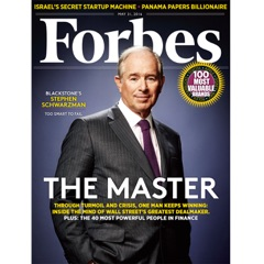 Forbes, May 31, 2016
