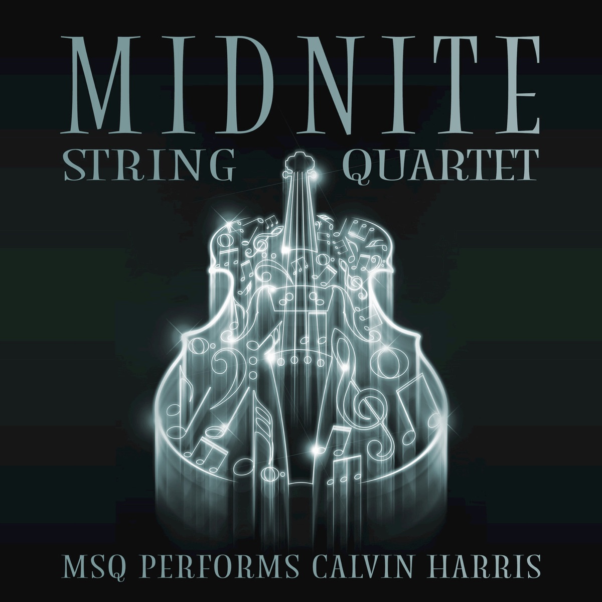 MSQ Performs Calvin Harris Midnite String Quartet CD cover