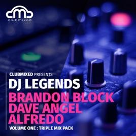 Clubmixed Presents DJ Legends Vol  1 Triple Mix Pack