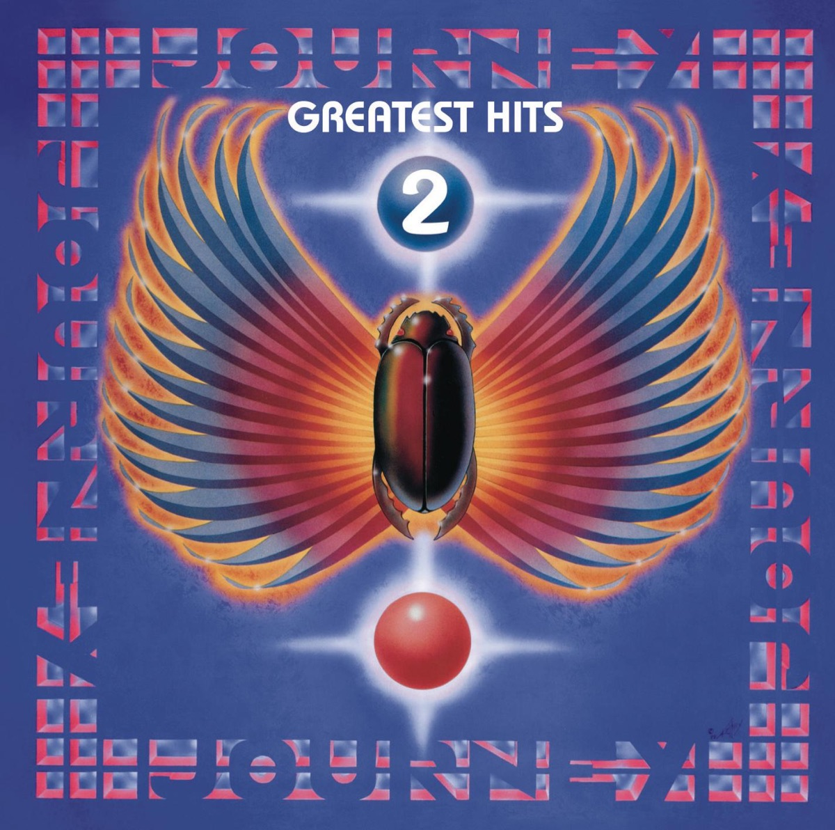 Greatest Hits 2 Journey CD cover
