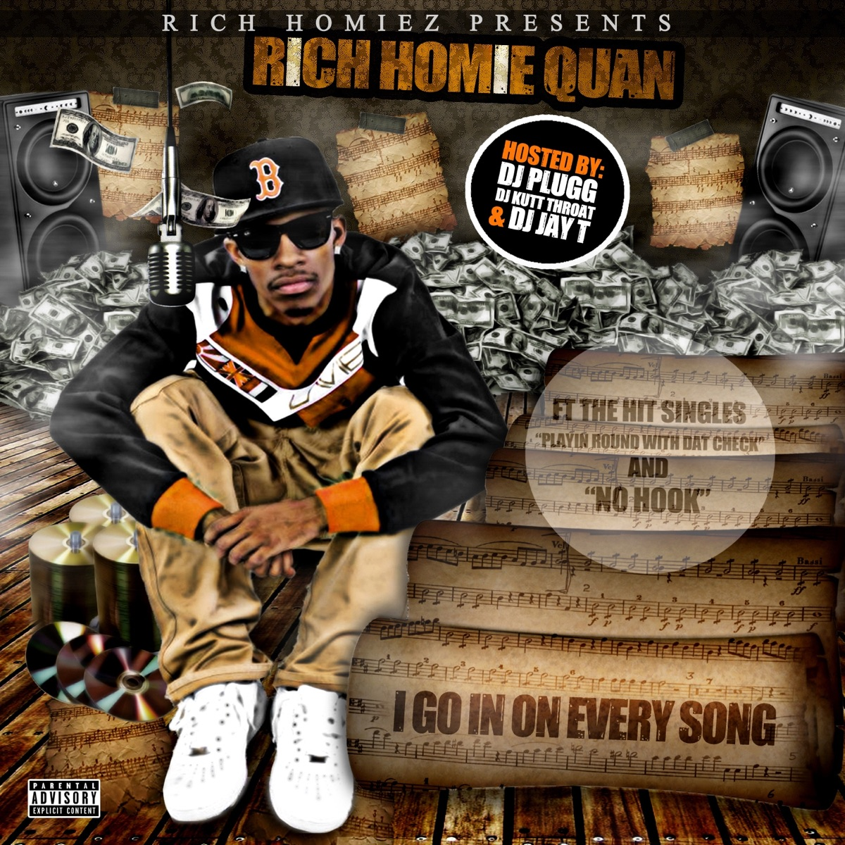 I Go In On Every Song Album Cover by Rich Homie Quan