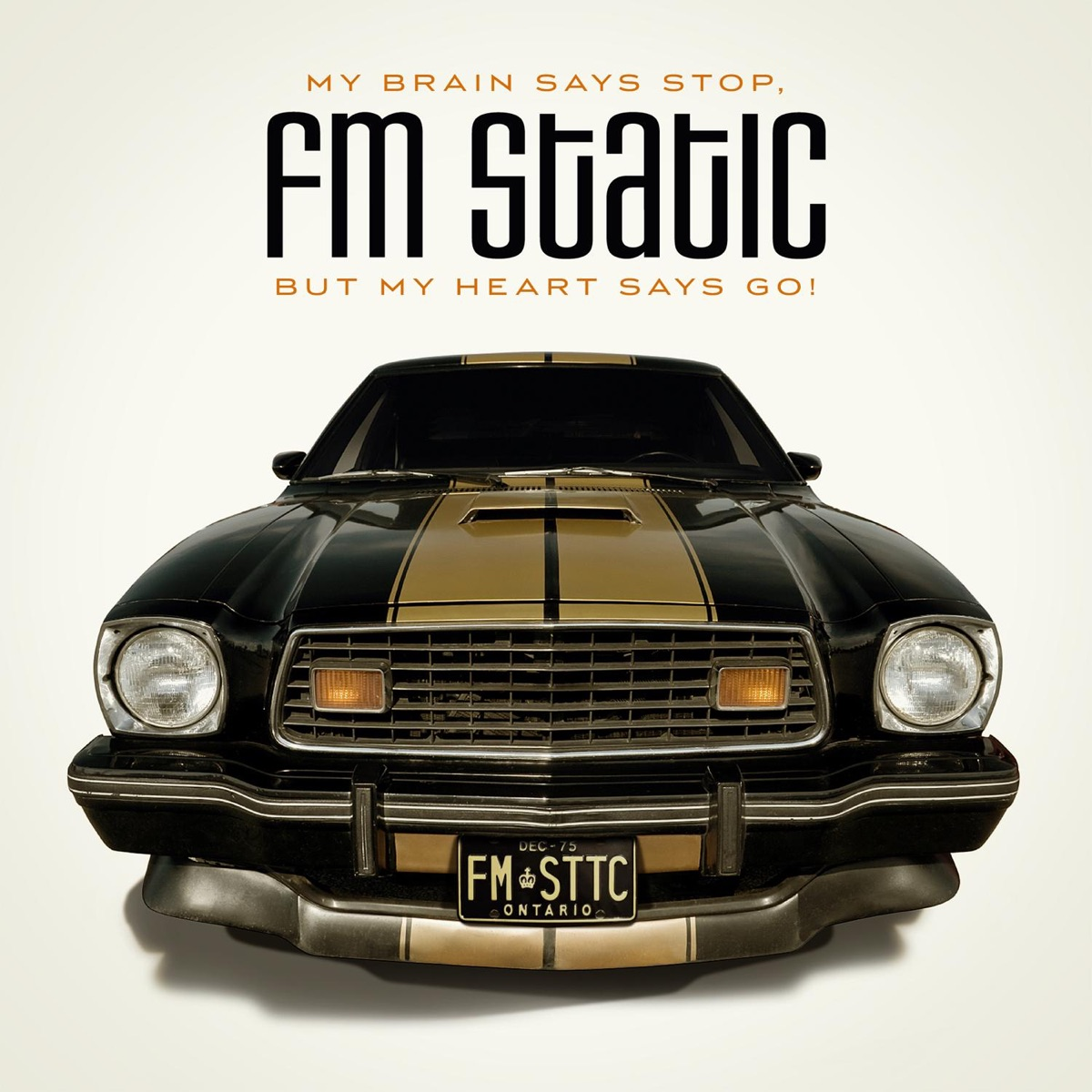 My Brain Says Stop But My Heart Says Go FM Static CD cover