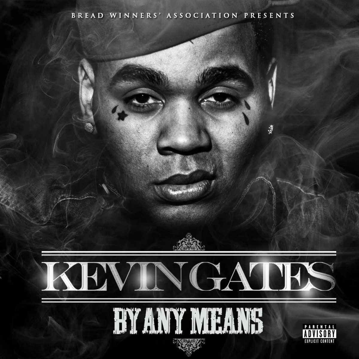 By Any Means Album Cover by Kevin Gates