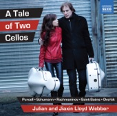 Anton Rubinstein - 12 Songs, Op. 48: No. 1. Der Engel (The Angel) (arr. J. Lloyd Webber for 2 cellos and piano)