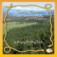 Singing Birthday Card - Country Western Personalized Birthday Songs