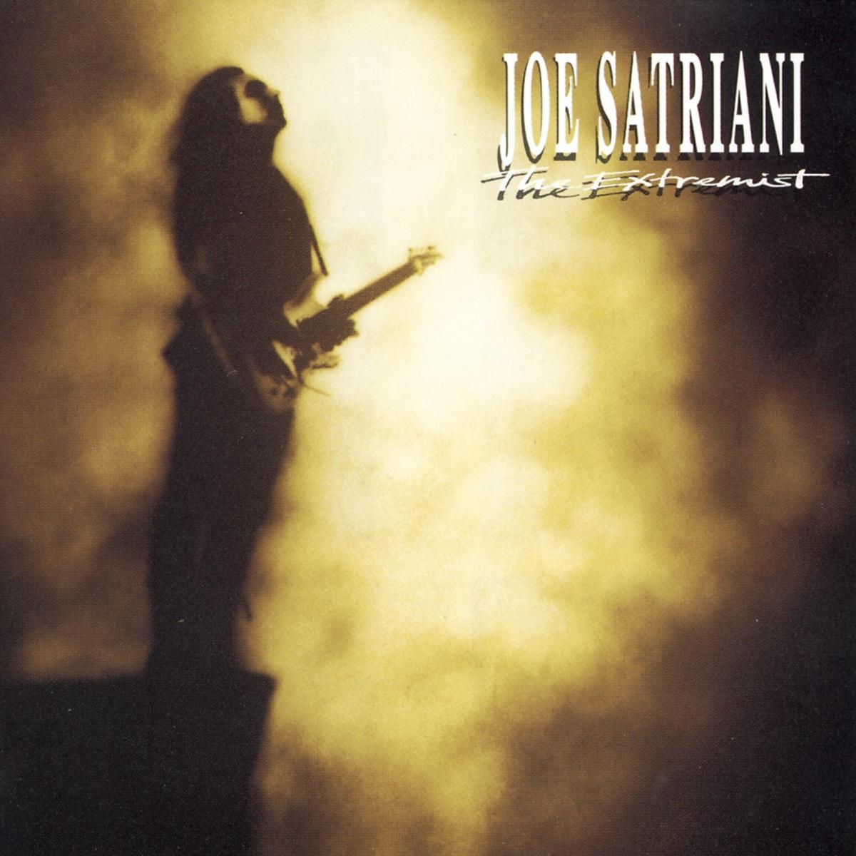 The Extremist Joe Satriani CD cover