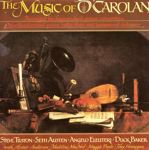 ocarolans influence on the irish music