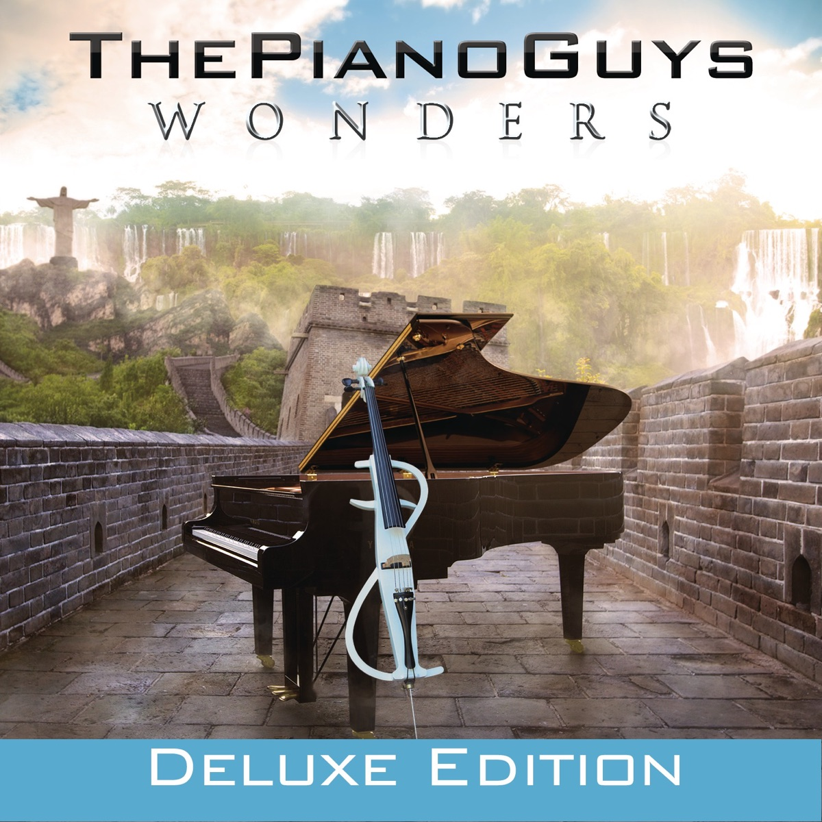 Wonders Deluxe Edition The Piano Guys CD cover