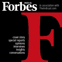 Podcast cover art for Inside Forbes India
