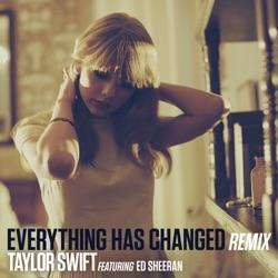 View album Taylor Swift - Everything Has Changed (Remix) [feat. Ed Sheeran] - Single