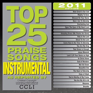 Top 25 Praise Songs: Instrumental by Maranatha! Instrumental
