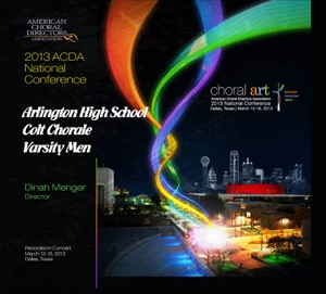 Arlington High School Colt Chorale Varsity Men & Dinah Menger - Some Nights