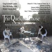 Trio Quelque Chose - Indiana Dunes