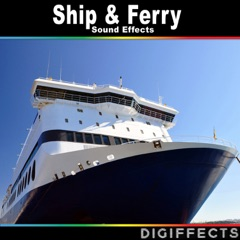 Large Passenger Ferry Cabin Ambience with Fan and Engine Sounds