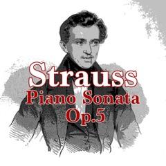 Richard Strauss: Piano Sonata, Op. 5 - EP