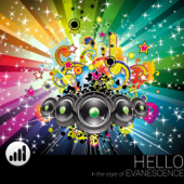 Hello (In the Style of 'Evanescence') [Karaoke Version]