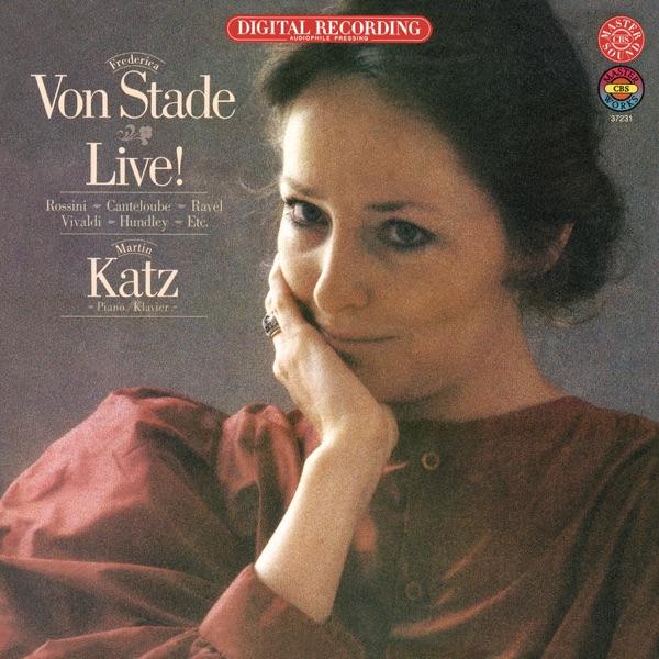 Frederica von Stade - Live!