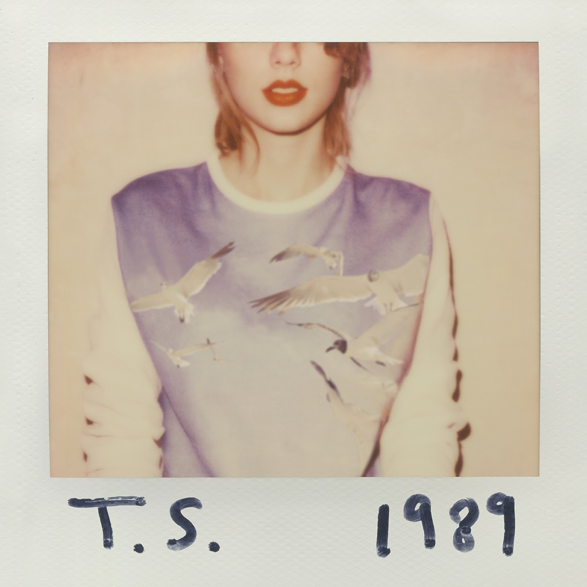 1989 Taylor Swift CD cover