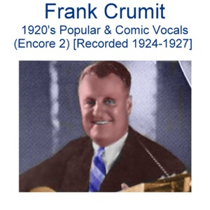 1920's Popular & Comic Vocals (Encore 2) [Recorded 1924-1927]