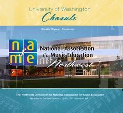 NAfME Northwest 2015 University of Washington Chorale (Live) - EP