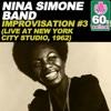 Improvisation #3 (Remastered) [(Live at New York City Studio, 1962)] - Single, Nina Simone
