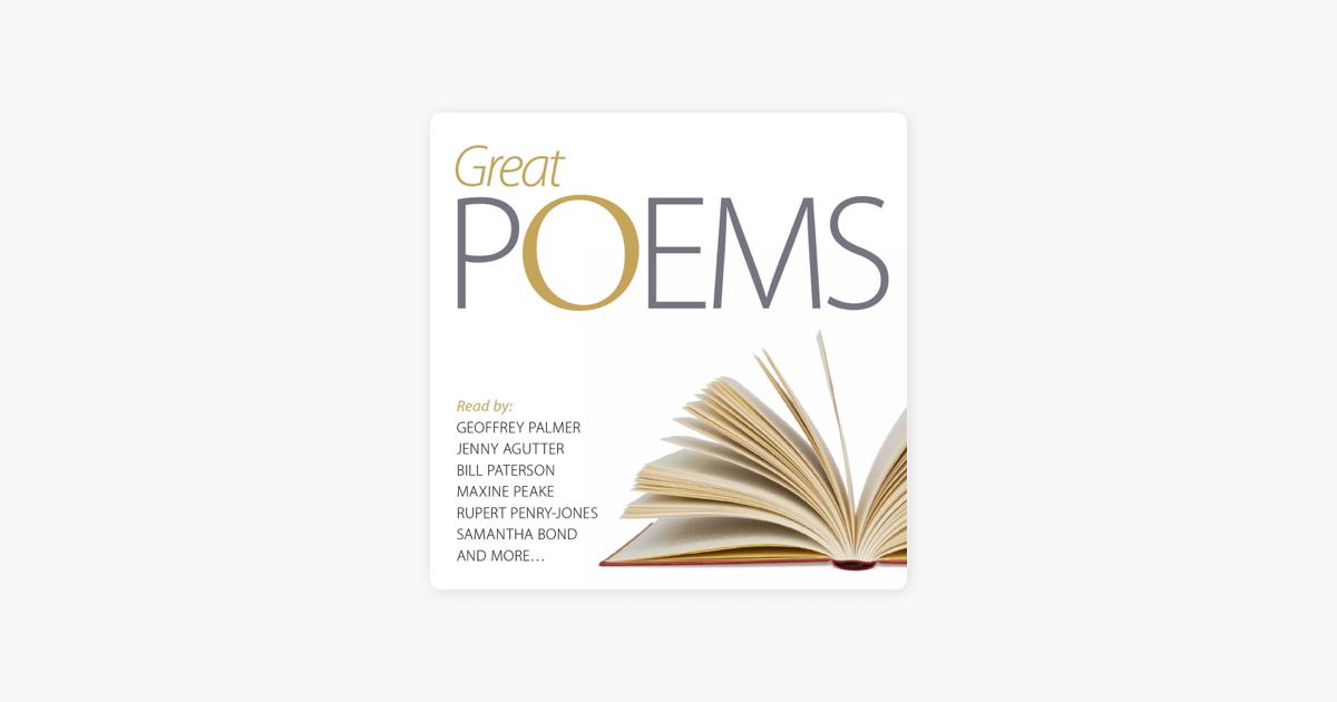 Great Poems (Unabridged) - Audible Studios