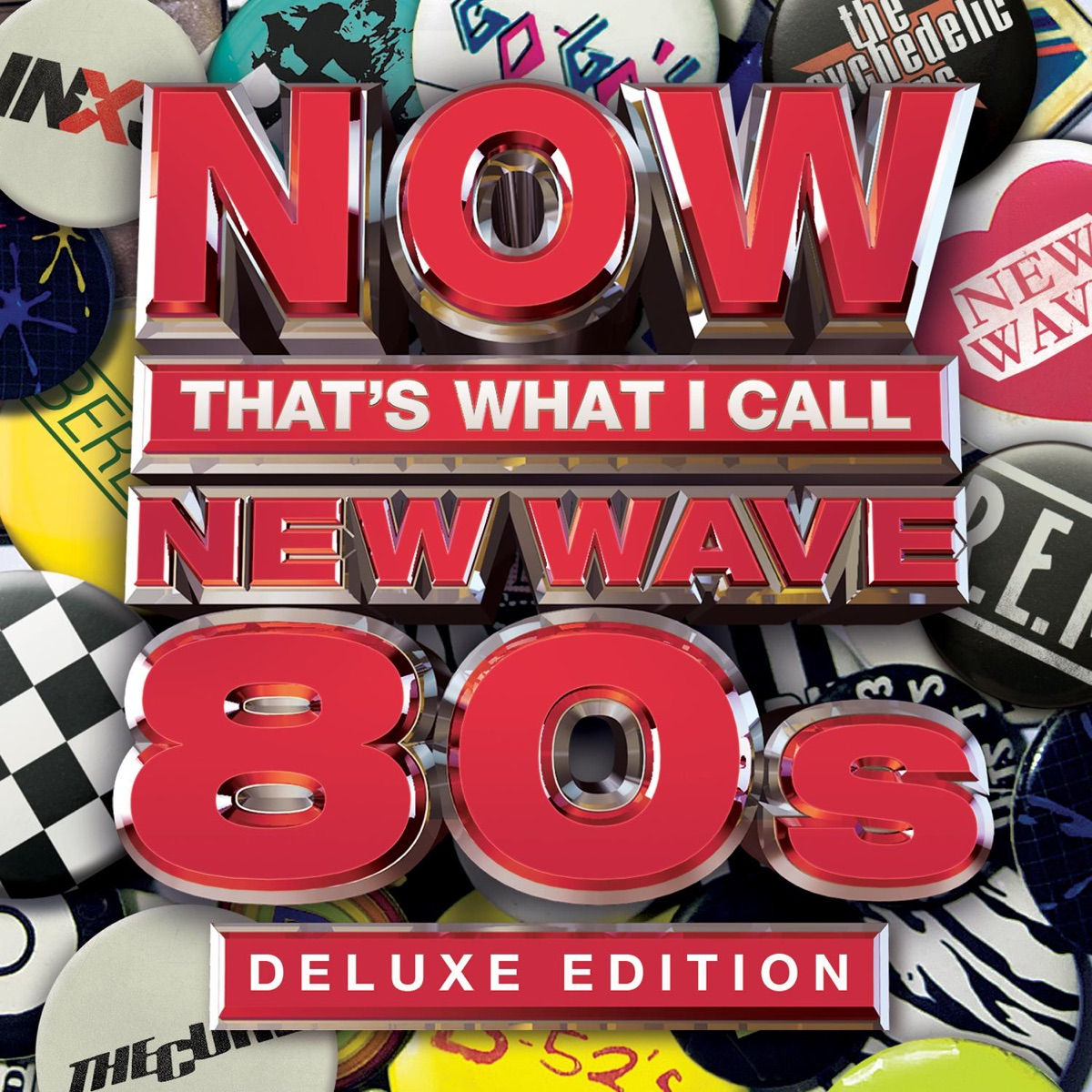NOW Thats What I Call New Wave 80s Deluxe Edition Various Artists CD cover