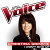 I Won t Give Up The Voice Performance Single