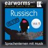 Earworms Learning - Russisch (vol.1): Lernen mit Musik Grafik