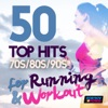 50 Top Hits 70's 80's 90's for Running and Workout, Various Artists