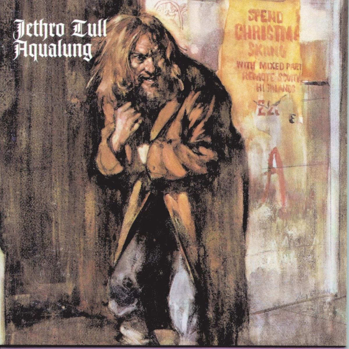 Aqualung Album Cover by Jethro Tull