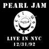 New York NY 31 December 1992 Live