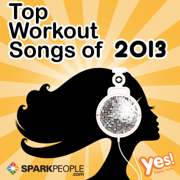 SparkPeople - Top Workout Songs of 2013 (60 Min. Non-Stop Workout Mix @ 132 BPM) - Yes Fitness Music