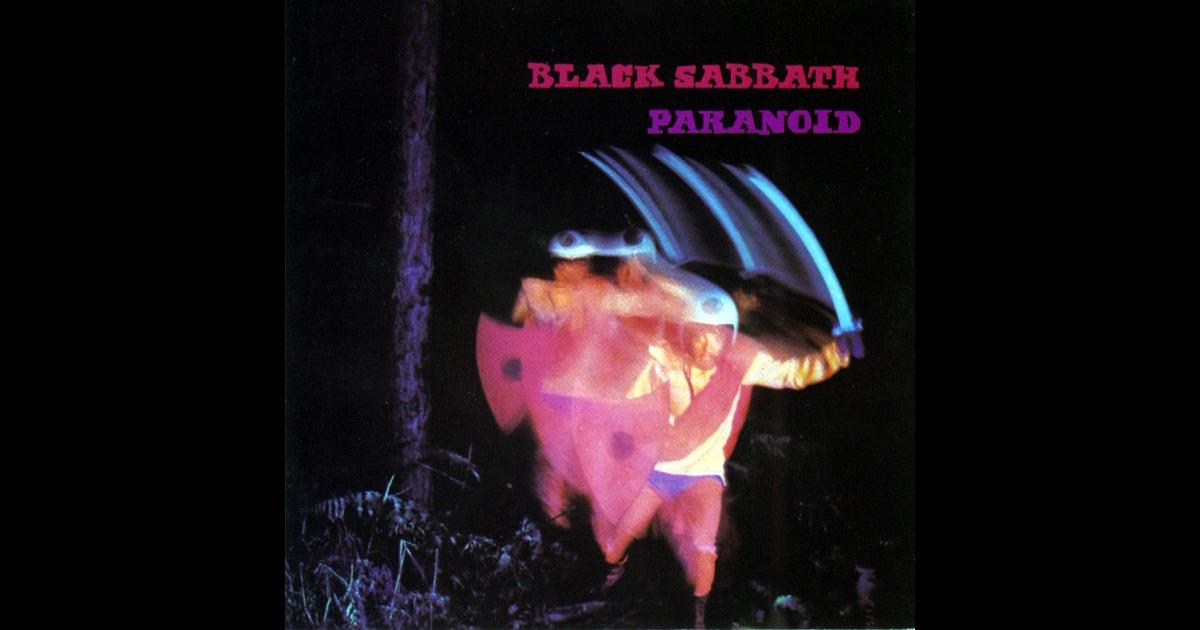 paranoid by black sabbath on apple