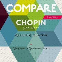 Chopin: 24 Preludes, Op. 28, Arthur Rubinstein and Vladimir Sofronitsky (2 Versions)
