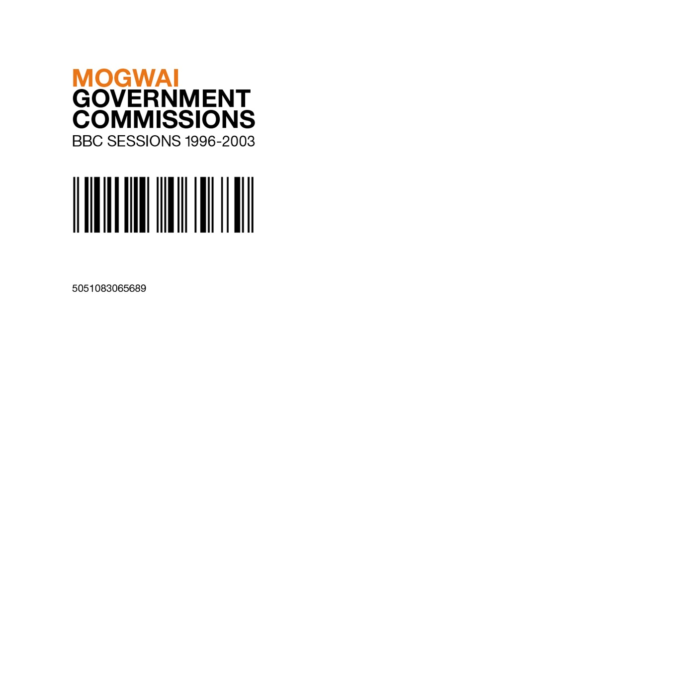Government Commissions (BBC Sessions 1996-2003)