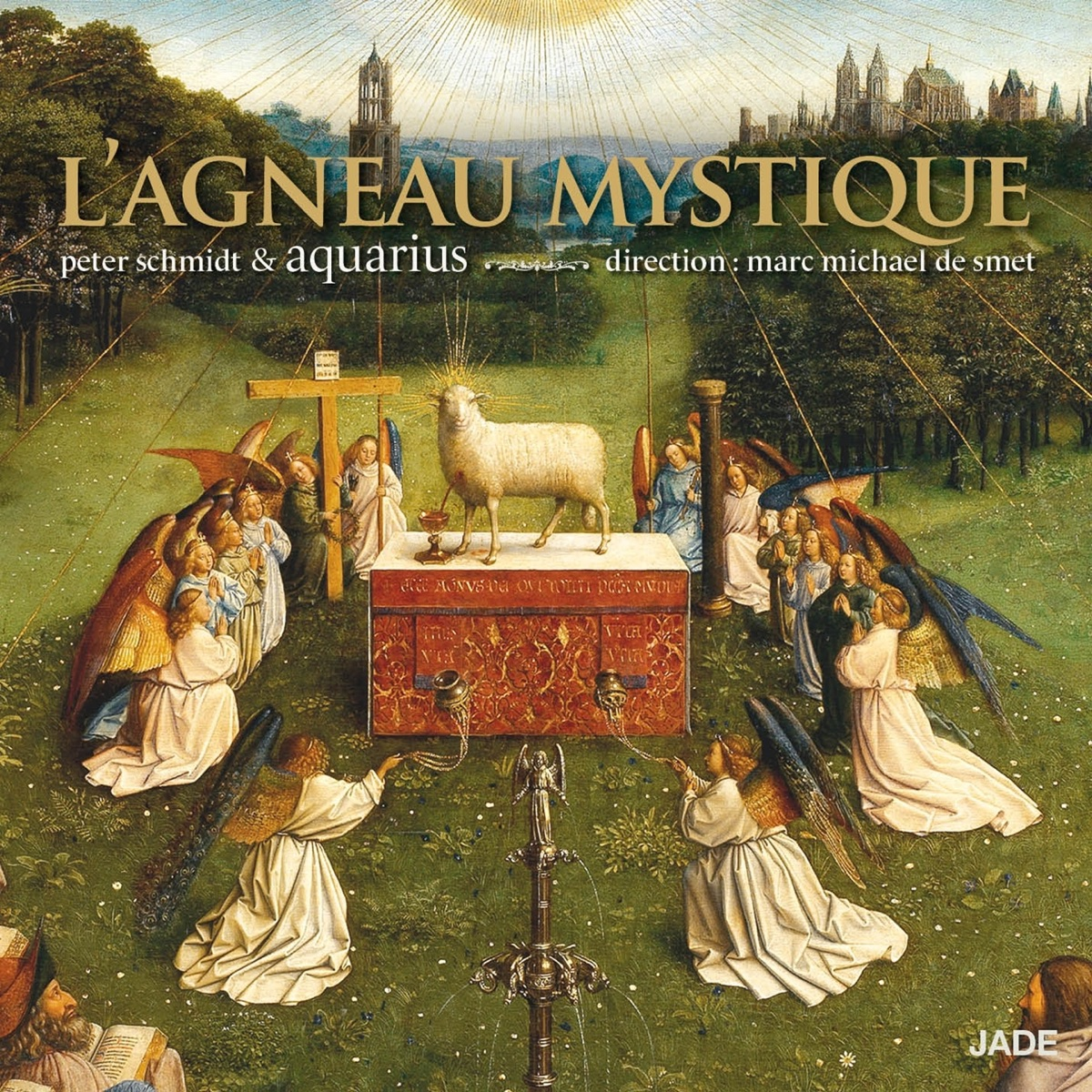 Lagneau mystique Aquarius  Peter Schmidt CD cover