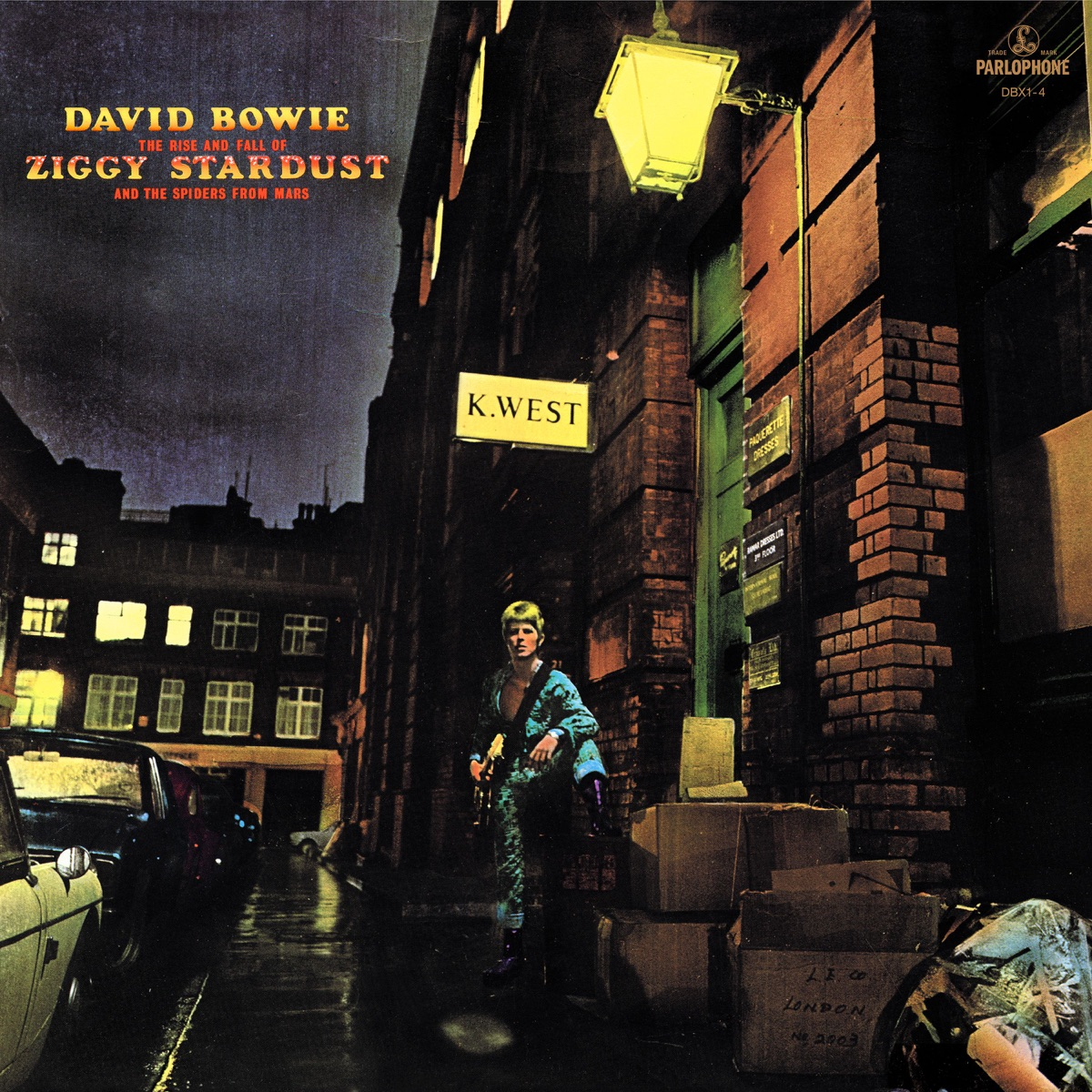 The Rise and Fall of Ziggy Stardust and the Spiders From Mars 2012 Remastered Version David Bowie CD cover