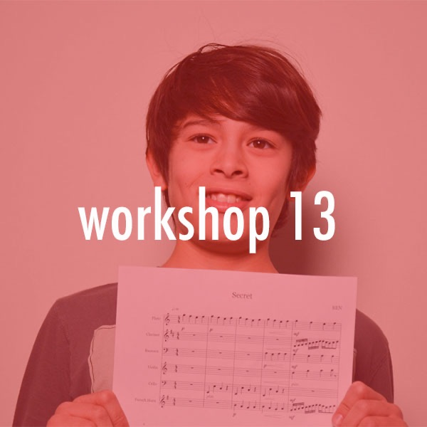 Workshop #13 Young Composers & Improvisors Workshop Recordings