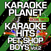 Rent (Karaoke Version With Background Vocals) [Originally Performed By Pet Shop Boys]