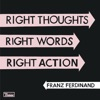 Right Thoughts, Right Words, Right Action ジャケット写真
