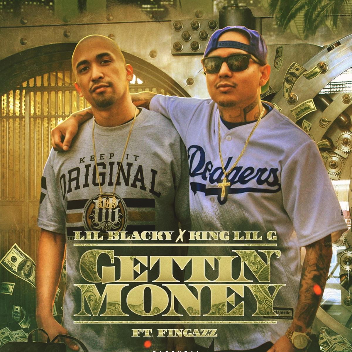 Gettin' Money Album Cover by Lil Blacky