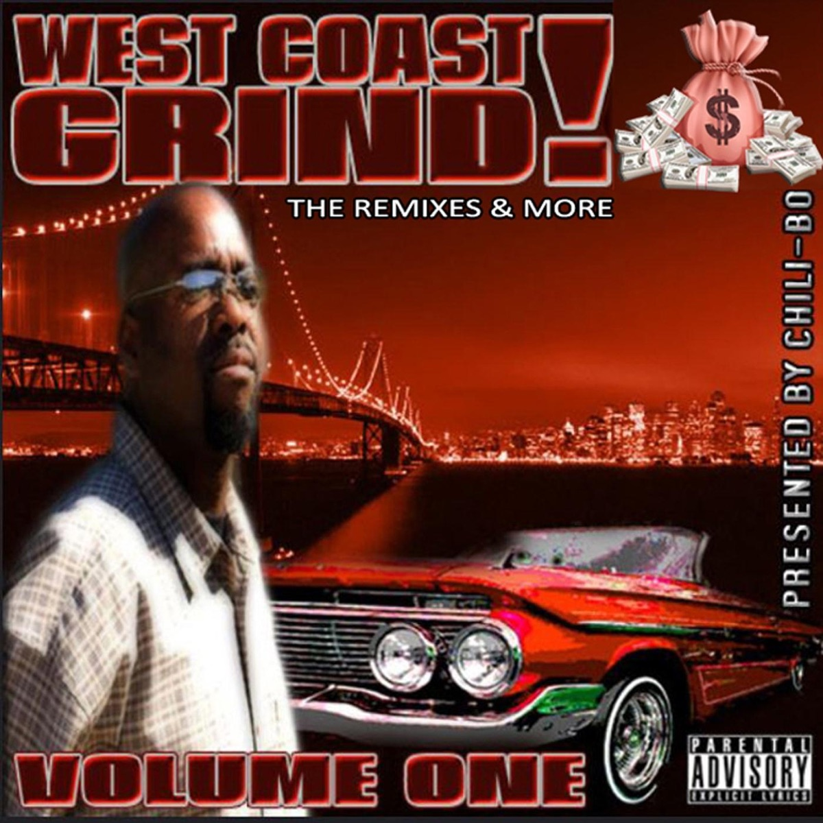 West Coast Grind The Remixes  More Vol 1 Chili-Bo CD cover