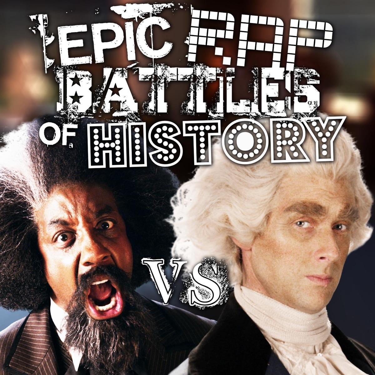 Frederick Douglass vs Thomas Jefferson- Single Album Cover