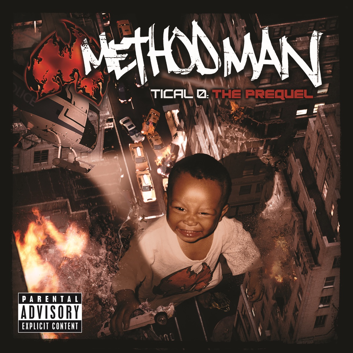 Tical 0 The Prequel Method Man CD cover
