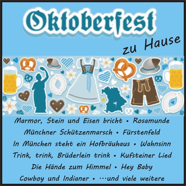 oktoberfest zu hause by various artists. Black Bedroom Furniture Sets. Home Design Ideas