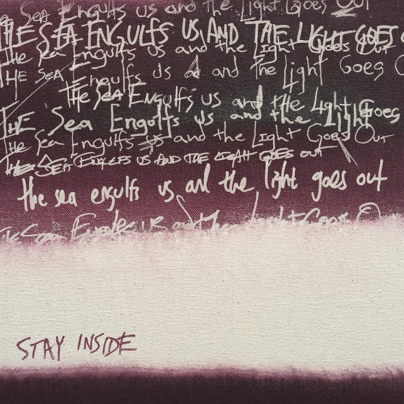 Stay Inside – The Sea Engulfs Us and the Light Goes Out [EP] (2018)