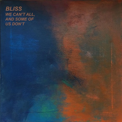 We Can't All, And Some of Us Don't - Bliss album