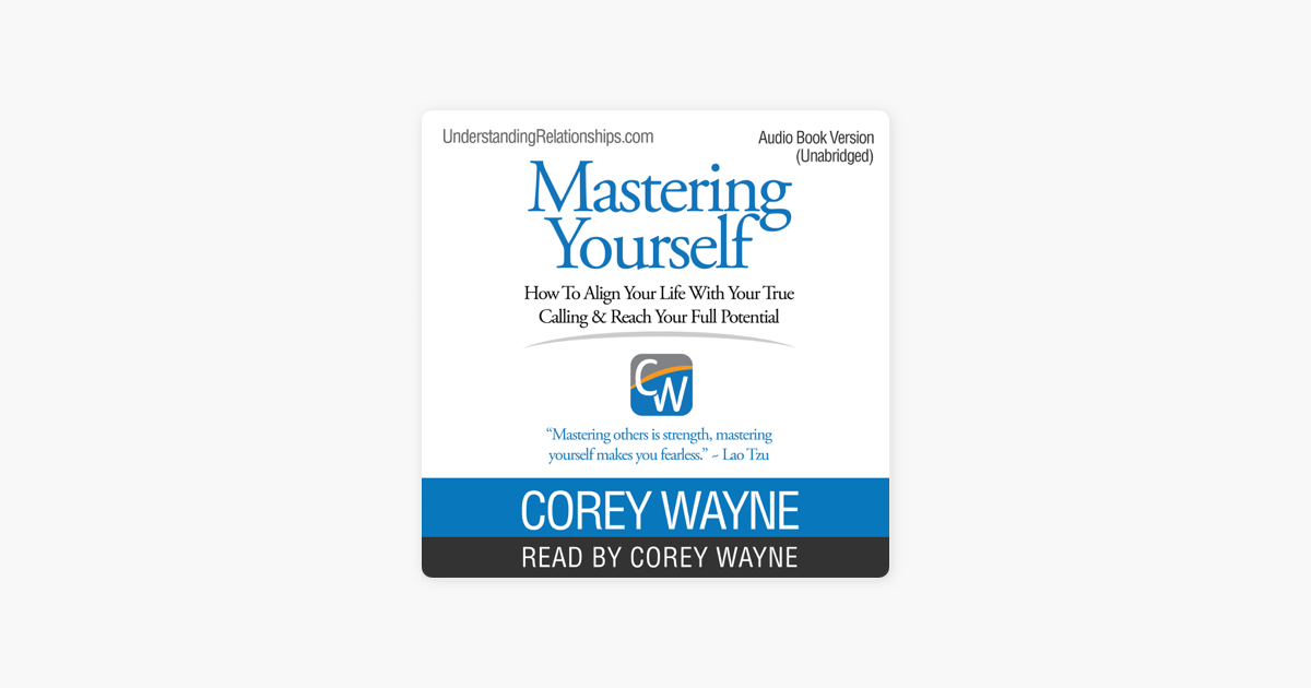 mastering yourself corey wayne book pdf